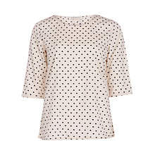 Buy Sugarhill Boutique Polly Top, Cream/Black Online at johnlewis.com