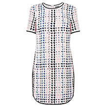 Buy Warehouse Mix Square Sporty Dress, Multi Online at johnlewis.com