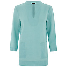 Buy Jaeger Linen Casual Top Online at johnlewis.com
