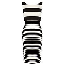 Buy Coast Prena Stripe Dress, Mono Online at johnlewis.com