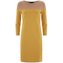 Buy Jaeger Breton Stripe Dress Online at johnlewis.com