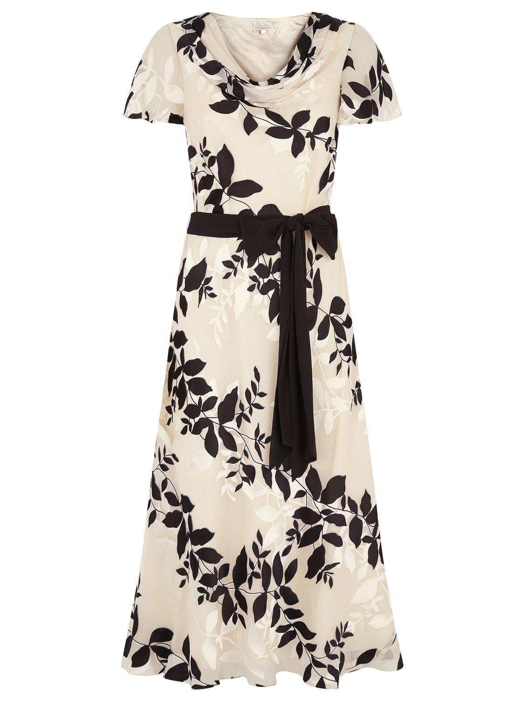 jacques vert shadow floral devore dress cream, jacques, vert, shadow, floral, devore, dress, cream, jacques vert, 24 16 10 14 20 12 18 22 8, women, plus size, womens dresses, 1903438