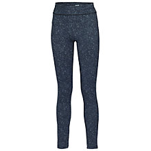 Buy Fat Face Activ88 Running Leggings, Moonshadow Black Online at johnlewis.com