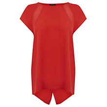 Buy Warehouse Split Back Top, Orange Online at johnlewis.com