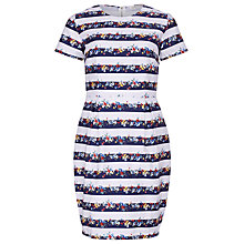 Buy Sugarhill Boutique Spring Bloom Dress, Navy/White Online at johnlewis.com