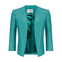 Buy Jacques Vert Edge to Edge Jacket, Blue Online at johnlewis.com