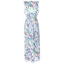 Buy True Decadence Grecian Print Maxi Dress, White Online at johnlewis.com