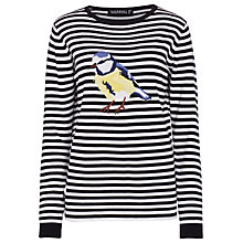 Buy Sugarhill Boutique Songbird Jumper, White/Black Online at johnlewis.com