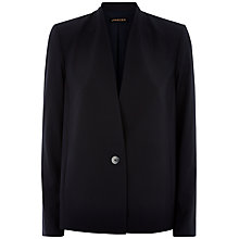 Buy Jaeger Seersucker Jacket, Midnight Online at johnlewis.com