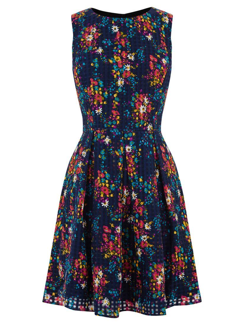 oasis poppy daisy skater dress navy, oasis, poppy, daisy, skater, dress, navy, 8|10|12|14|16, women, womens dresses, 1903455