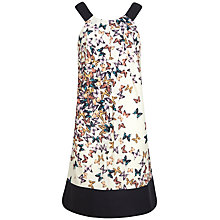 Buy Ted Baker Butterfly Contrast Dress, Cream Online at johnlewis.com