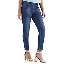 Buy Oasis Isabella Skinny Crop Jeans, Mid Wash Online at johnlewis.com