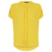 Buy Oasis Relaxed Fit Shirt, Ochre Online at johnlewis.com