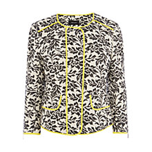 Buy Karen Millen Quilted Jacquard Jacket, Multi Online at johnlewis.com