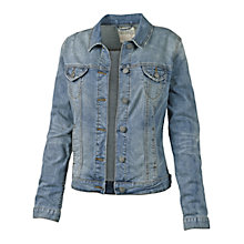 Buy Fat Face Portobello Mid Wash Jacket, Denim Online at johnlewis.com