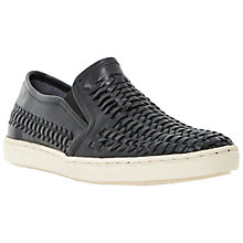 Buy Bertie Bradley Woven Leather Slip-On Shoes Online at johnlewis.com