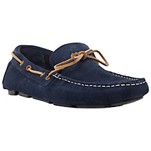 Buy Dune Beachy Driving Loafers, Navy Online at johnlewis.com