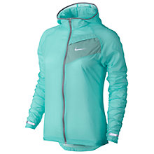Buy Nike Impossibly Light Running Jacket, Light Aqua/Dove Grey Online at johnlewis.com