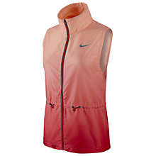 Buy Nike Gradient Full Zip Running Vest Online at johnlewis.com