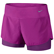 Buy Nike Perforated Rival 2-in-1 Running Shorts Online at johnlewis.com