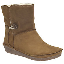 Buy Clarks Lima Caprice Leather Ankle Boots Online at johnlewis.com