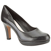 Buy Clarks Crisp Kendra Platform Court Heels Online at johnlewis.com