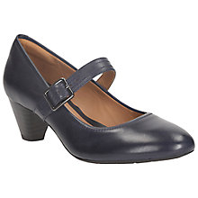 Buy Clarks Denny Date Leather Mary Jane Court Shoes Online at johnlewis.com