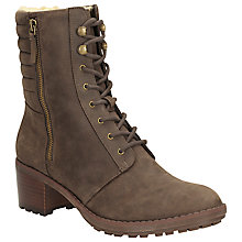 Buy Clarks Maroda Spritz Lace Up Leather Ankle Boots Online at johnlewis.com