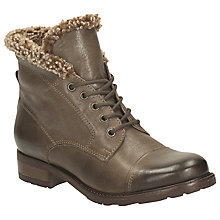 Buy Clarks Hayride Elm Leather Lace Up Hiker Boots Online at johnlewis.com