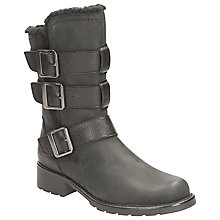 Buy Clarks Orinoco Bloom Buckled Calf Boot Online at johnlewis.com