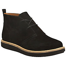 Buy Clarks Glick Willa Lace Up Ankle Boots Online at johnlewis.com