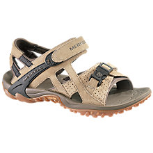 Buy Merrell Men's Kahuna III Sandals, Taupe Online at johnlewis.com