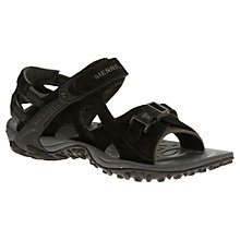 Buy Merrell Women's Kahuna III Sandals, Black Online at johnlewis.com