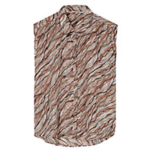 Buy Gerard Darel Angelique Shirt, Beige Rosé Online at johnlewis.com
