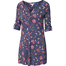 Buy Fat Face Dorking Indian Tunic Top, Dark Chambray Online at johnlewis.com
