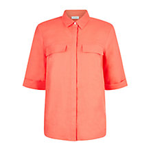 Buy Hobbs Gracie Linen Shirt Online at johnlewis.com