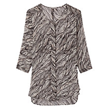 Buy Gerard Darel Atelier Silk Shirt, Ecru Online at johnlewis.com