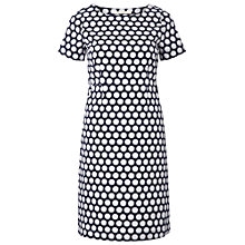 Buy White Stuff Spotty Little Oasis Dress, Navy Online at johnlewis.com