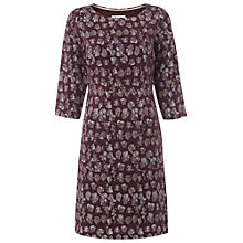 Buy White Stuff Piece Me Print Dress, Misty Mauve Online at johnlewis.com