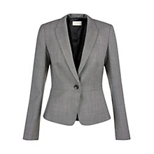 Buy Hobbs Cyra Jacket, Black Neutral Online at johnlewis.com