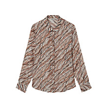 Buy Gerard Darel Aude Shirt, Beige Rosé Online at johnlewis.com