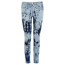 Buy Karen Millen Tie Dye Jeans, Blue/Multi Online at johnlewis.com