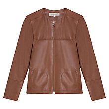 Buy Gerard Darel Asperge Jacket, Cognac Online at johnlewis.com