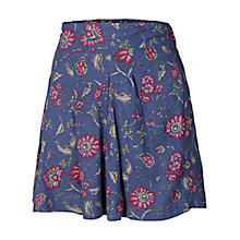 Buy Fat Face Flippy Shorts, Dark Chambray Online at johnlewis.com