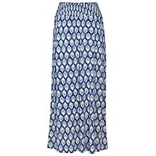Buy Fat Face Jade Rachita Maxi Skirt, Dark Chambray Online at johnlewis.com