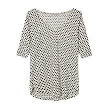 Buy Gerard Darel Aggie Top, Ecru Online at johnlewis.com
