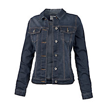 Buy Fat Face Portobello Denim Jacket, Navy Online at johnlewis.com