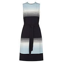 Buy Hobbs Helena Dress, Navy Ivory Online at johnlewis.com