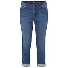 Buy White Stuff Southern Ocean Cropped Trousers, Mid Denim Online at johnlewis.com