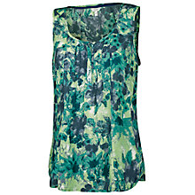 Buy Fat Face Hampton Lagoon Cami, Ocean Tide Online at johnlewis.com